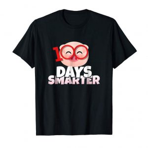 Get 100 Days Smarter Happy 100th Day Of School Pig T-Shirt