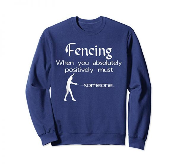 Cool Fencing Definition T-Shirt Funny Stab Someone Fencers Gift