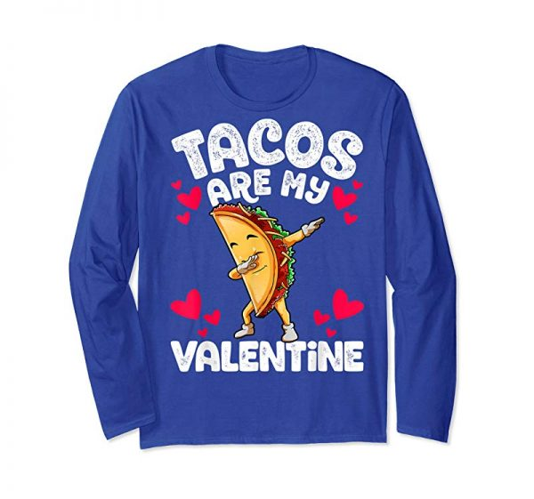 Buy Cute Funny Tacos Are My Valentine TShirt