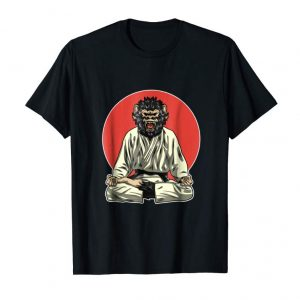 Cool Monkey Demon - Brazilian Jiu-Jitsu, MMA, BJJ Gift Shirt