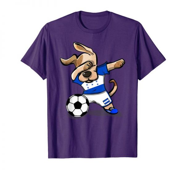 Cool Dog Dabbing Honduras Soccer Jersey Shirt Honduran Football