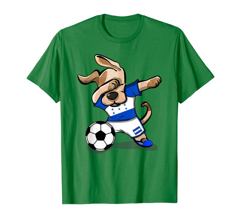 san francisco 64867 8635c Cool Dog Dabbing Honduras Soccer Jersey Shirt Honduran Football -  Tees.Design