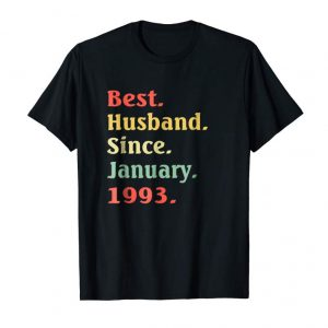 Order Mens 26th Wedding Anniversary Gifts Best Husband Since 1993