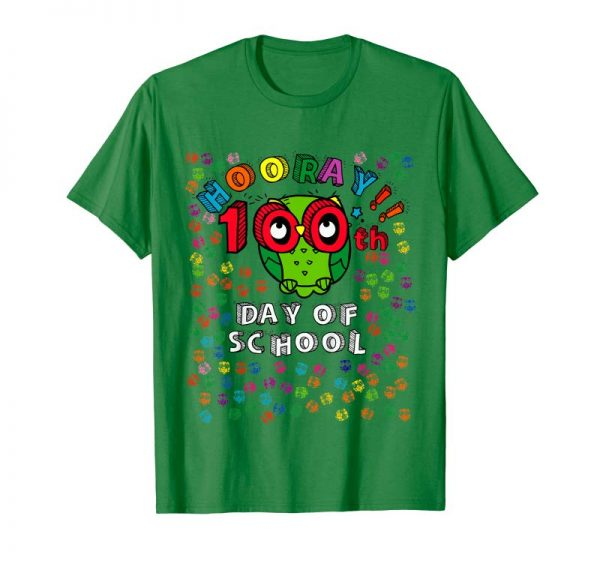 Trending Kids 100 Days Of School Shirt Owl Kindergarten Preschool
