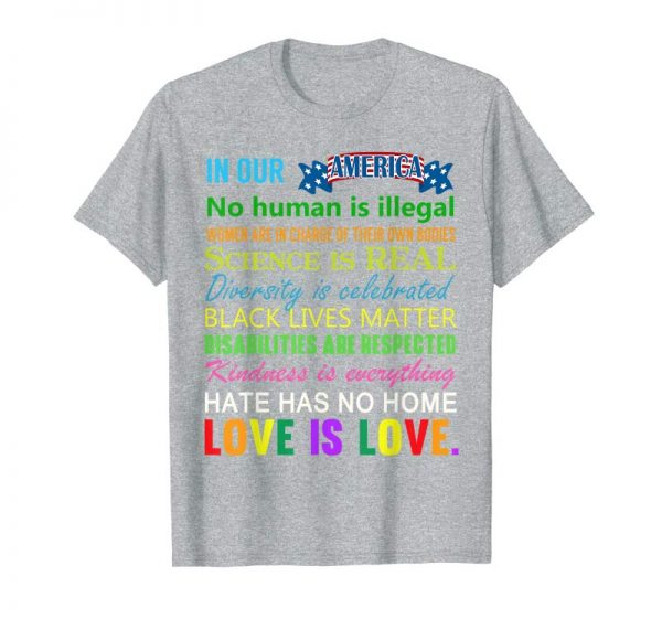 Trends Science Is Real Black Lives Matter Inspirational Quote Shirt