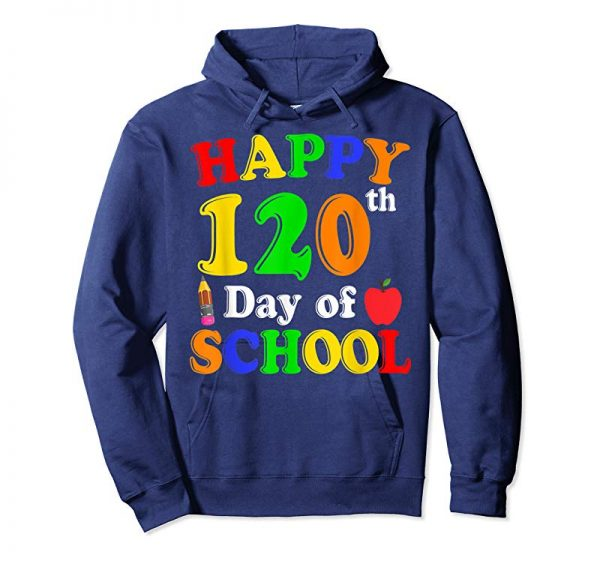 Order Happy 120th Day Of School Teacher & Students T-shirt