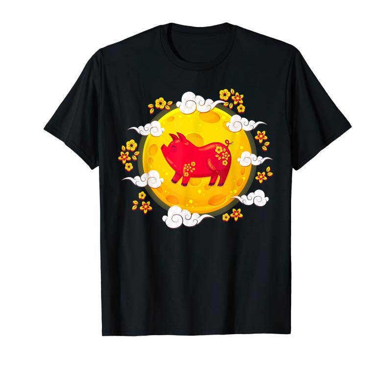 Order Golden Pig Lucky Red Envelope Costume Year Of The Pig Shirt