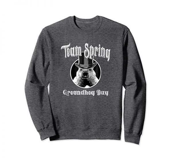 Get Now Team Spring - Funny Groundhog Day T-Shirt