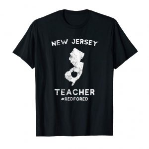 Order Red For Ed T-Shirt New Jersey Teacher Public Education