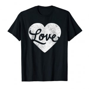 Get Cute Cursive Love Valentines Day Red T Shirt For Men & Women