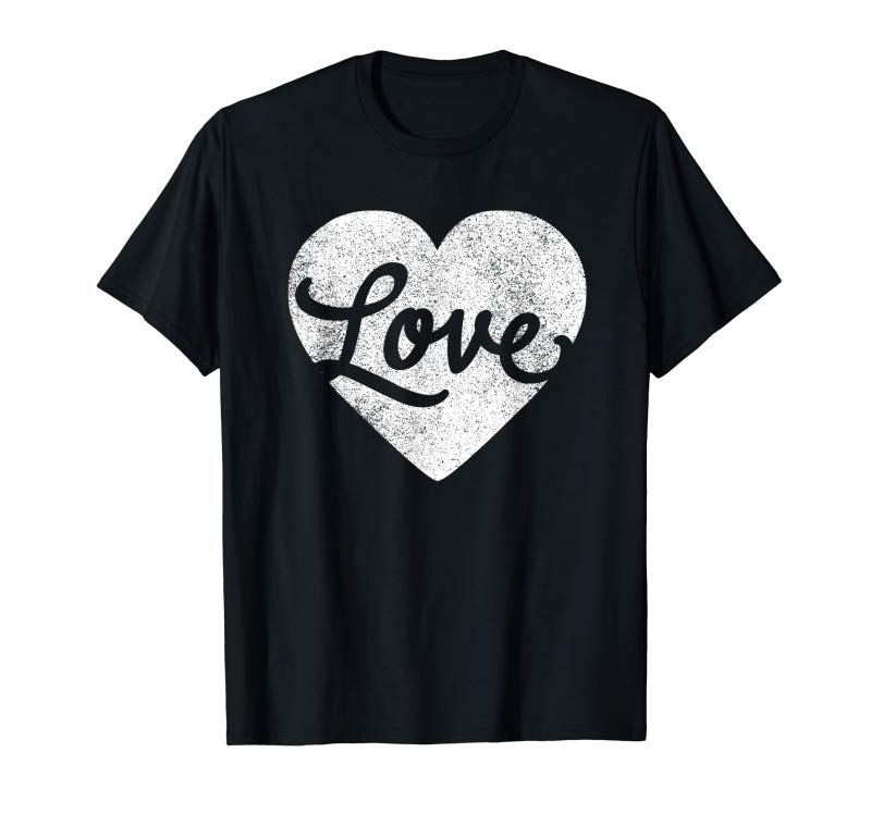 Get Cute Cursive Love Valentines Day Red T Shirt For Men  Women
