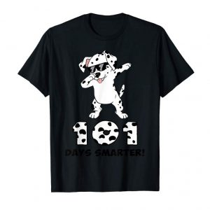 Trending 101 Days Smarter Shirt Dalmation Dog Teachers Kids Gift
