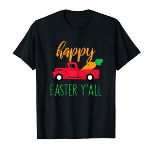 Buy Womens Happy Easter Yall Red Truck With Carrot T Shirt For Mom Son