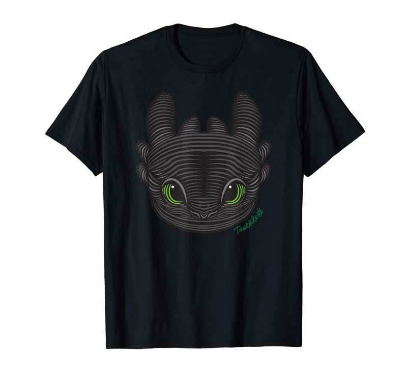 b5a476df4 Get DreamWorks How To Train Your Dragon 3 Toothless T-shirt - Tees ...