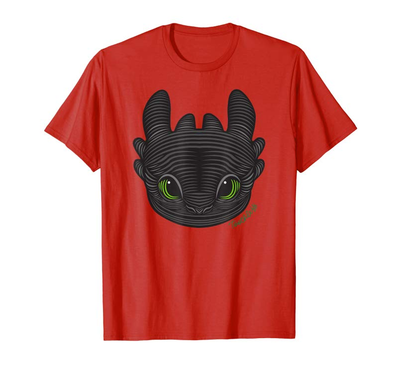 3b9aaca2a9 Get DreamWorks How To Train Your Dragon 3 Toothless T-shirt - Tees ...