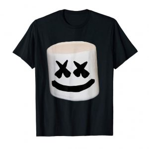 Trends Happy Marshmallow Smores Smiley Face T-Shirt