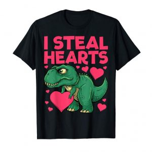Buy I Steal Hearts Dinosaur Quote Gift Idea For Girls Boys