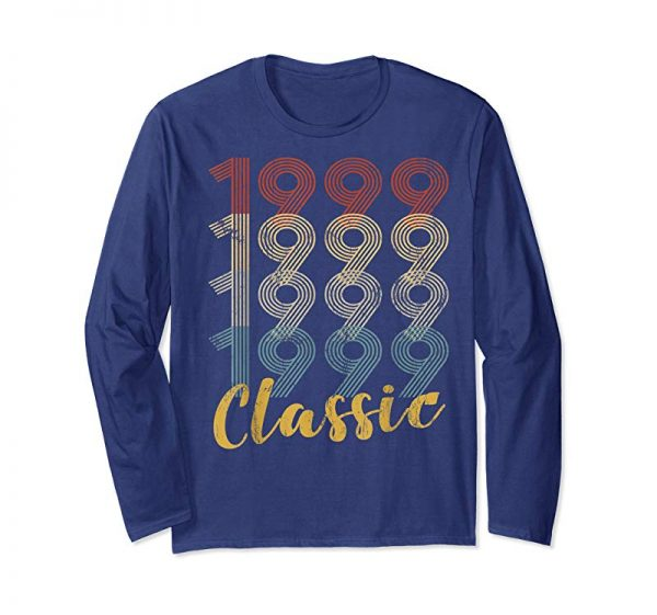 Buy Now 20-th Birthday Gift Retro Classic 1999 Years Old Tee Shirt