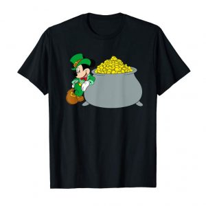 Get Now Disney Mickey Mouse St. Patrick's Day Pot Of Gold T-Shirt