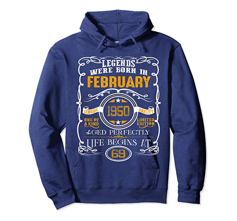 Order Now February 1950 69th Birthday Gift 69 Year Old For Men Women