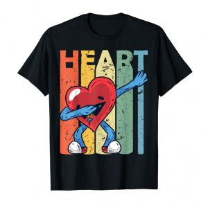 Order Dabbing Heart T-shirt Valentines Day Kids Boys Gifts