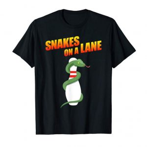 Get Now Snakes On A Lane Bowling League Team Shirt For Men And Women