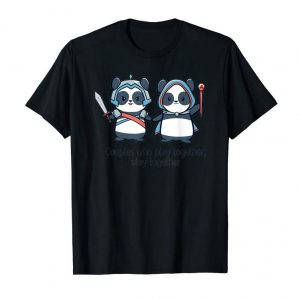 Buy Couples Who Play Together Stay Together T-shirt Panda Lover