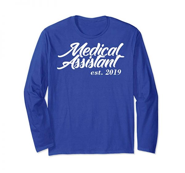 Buy New Medical Assistant Gift Medical Assistant Est 2019 Hoodie