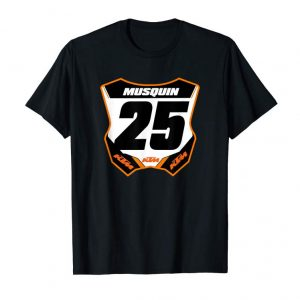 Cool Number Plate Supercross And Motocross Fan Shirt