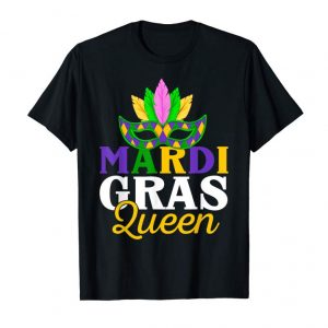 Buy Matching Mardi Gras Queen Shirt For Women