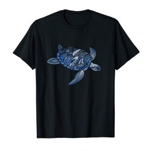 Buy Sea Turtle Long Sleeve Shirt Ocean Life Color Doodle Art