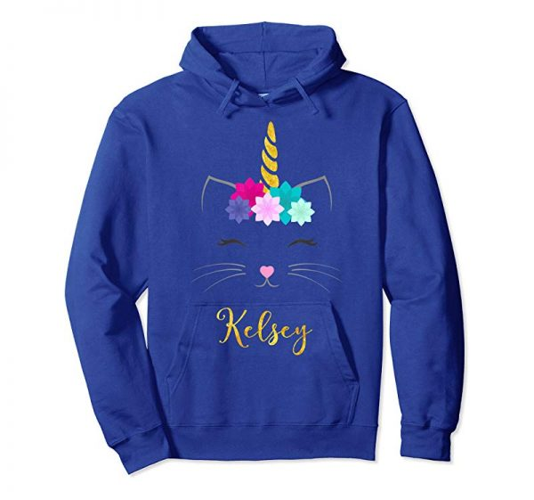 Order Now Kelsey Name Shirt Cat Unicorn Personalized Birthday Gift