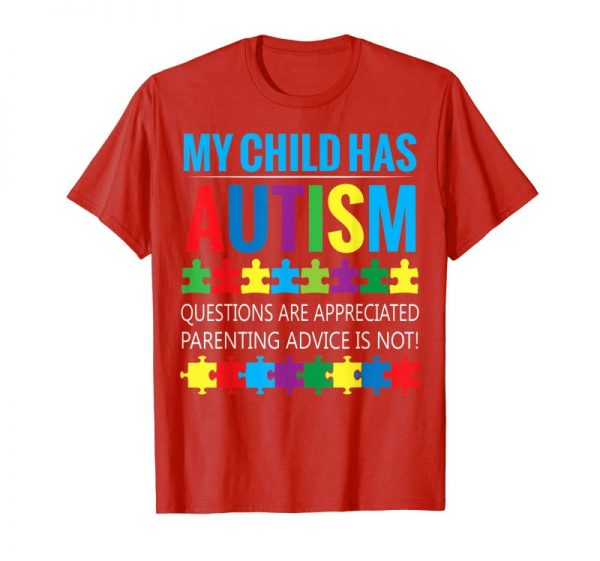 Cool Autism Awareness Tshirt For Gift Autism Mom Shirt For Woman