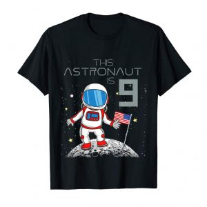 Order Now Kids 9th Birthday Astronaut Shirt Boys Gift 9 Year Old Space Geek