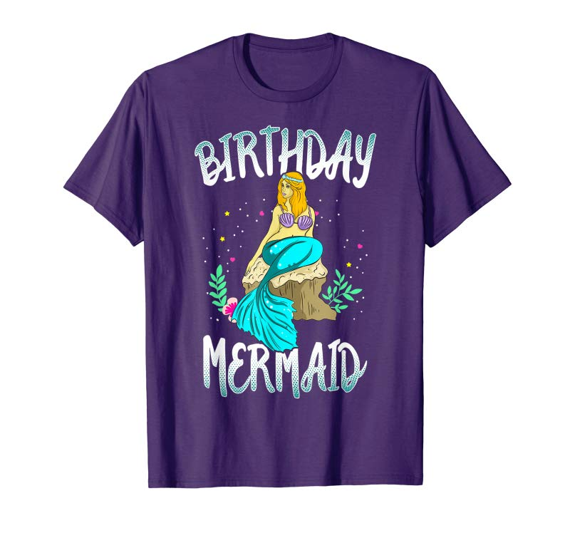 Buy Now Birthday Mermaid Shirt Party Outfit