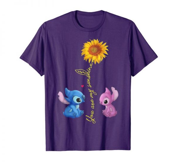 Buy STITCH YOU ARE MY SUNSHINE SHIRT FOR LOVER