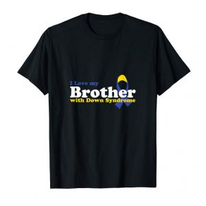Buy Love Brother With Down Syndrome Awareness Gifts Tshirt