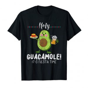 Buy Now Holy Guacamole It's Fiesta Time Holiday Distressed T-Shirt