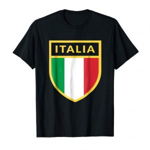Trending Italia T-shirt Coat Of Arms Italian Tee Flag Rome Italy