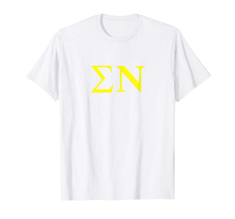 Buy Now Sigma Nu Letters T-Shirt College University Greek Alumni -  Tees Design
