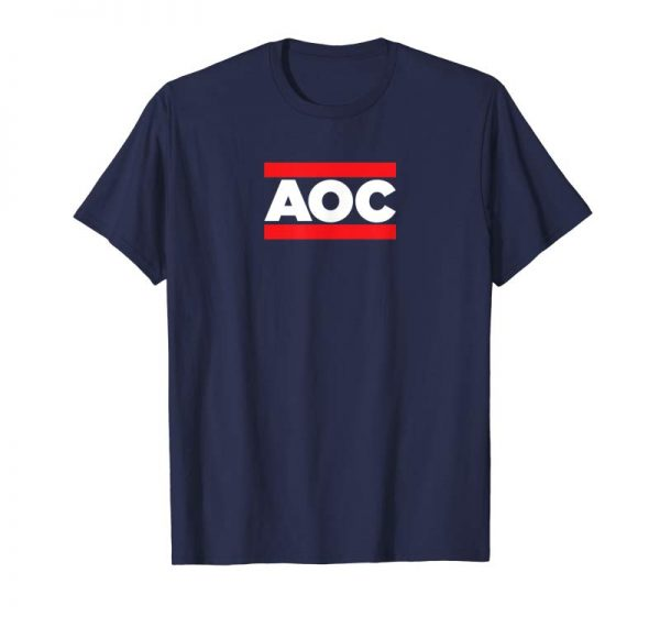 "Buy ""AOC"" Alexandria Ocasio-Cortez Rap Short Sleeve T-Shirt"