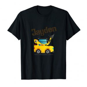 Get Now Kids Bulldozer Loader Name Jayden Personalized Toddler Shirt