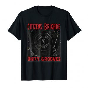 """Cool Citizens Brigade """"Dirty Grooves"""" EP With CB Logo On Back"""