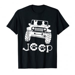 Get German Shepherd Dog T-Shirt - Riding On Jeep - Gift For Guys