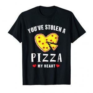 Buy Now Stolen Pizza My Heart Funny Valentines Day Shirt Food Gift