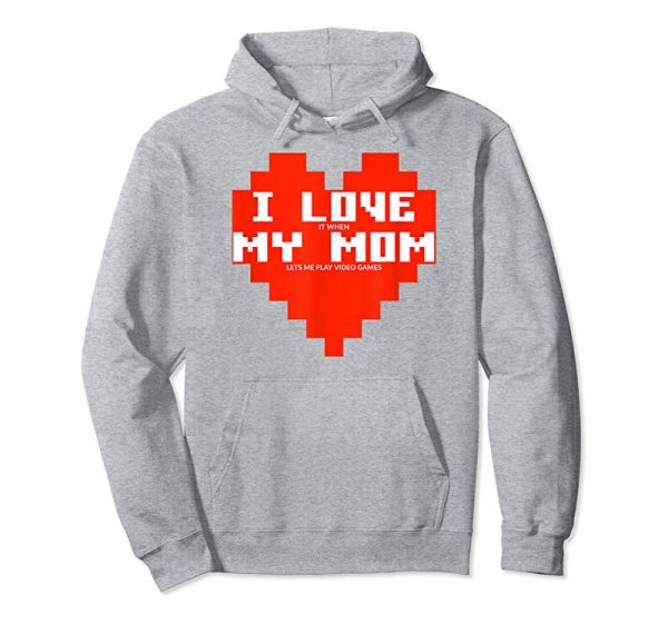 Get Now I Love It When My Mom Lets Me Play Video Games T Shirt Boys