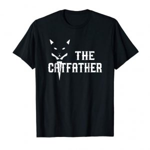 Buy The Catfather - Father Of Cats Funny Cat Dad Gift Tshirt