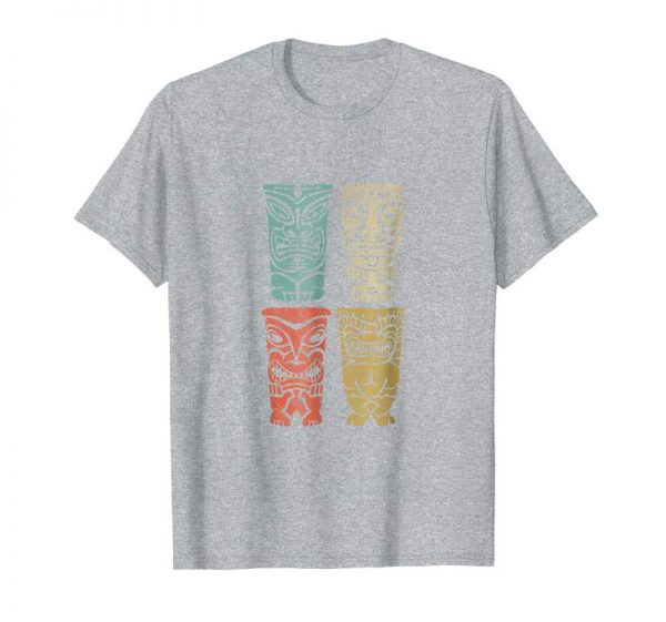 Order Now Retro Tiki Polynesian Beach T-Shirt