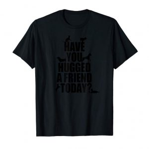 Trending Have You Hugged A Friend Today? Cats And Dogs T-Shirt