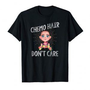 Buy Chemo Hair Don't Care Fight Breast Cancer Awareness T-Shirt